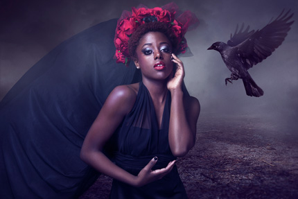 Photo: Images by Kerri Jean /// Model: Tiarress Stokes /// MUAH: Nicole Walker Hair & Makeup Concepts